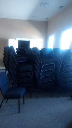 New chairs