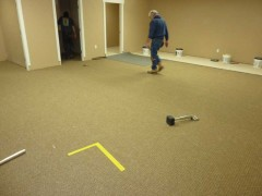Carpeting youth room